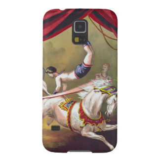 Banner Act Vintage Circus Art Galaxy S5 Covers