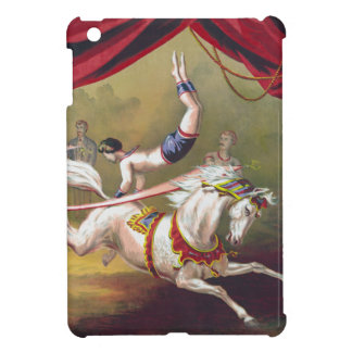 Banner Act Vintage Circus Art iPad Mini Covers