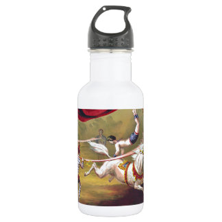 Banner Act Vintage Circus Art 18oz Water Bottle
