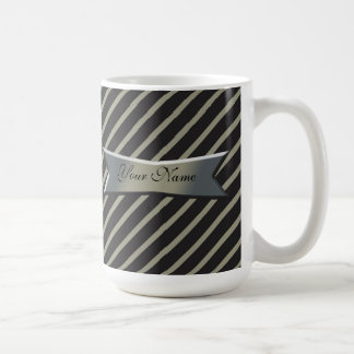 Banner and Stripes Coffee Mug
