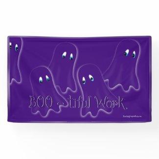 """Banner Bulletin Board """"Boo-tiful Work"""""""