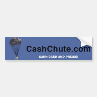 banner, EARN CASH AND PRIZES! Bumper Sticker