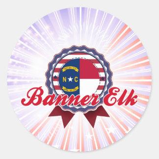 Banner Elk, NC Round Sticker