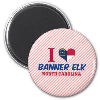 Banner Elk, North Carolina 2 Inch Round Magnet
