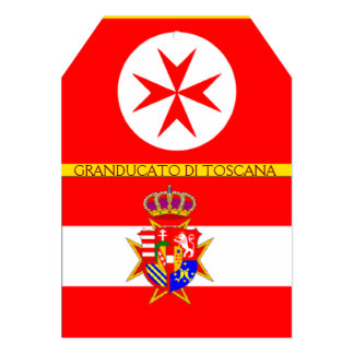 Banner Grand Duchy of Tuscany Card