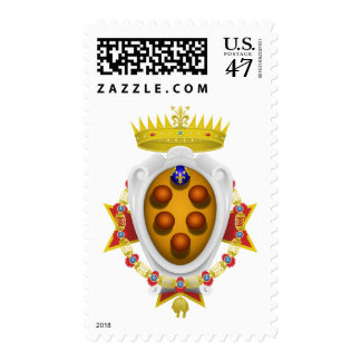 Banner Grand Duchy of Tuscany Stamp