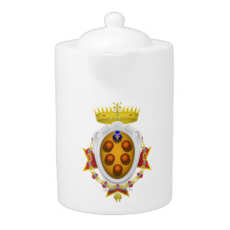 Banner Grand Duchy of Tuscany Teapot