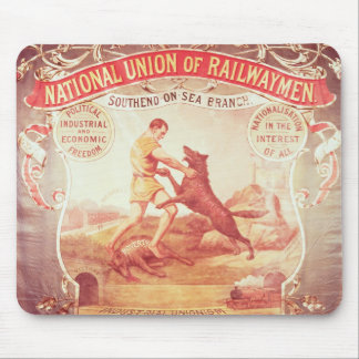 Banner of the Southend-on-Sea branch of the Nation Mouse Pad