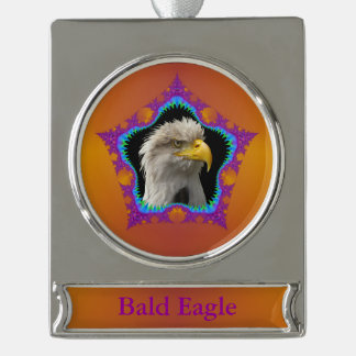 Banner Ornament Bald Eagle