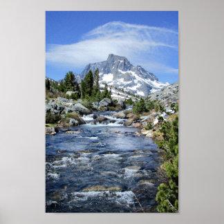 Banner Peak from Thousand Island - Sierra Nevada Poster