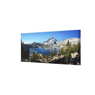 Banner Peak Thousand Island Lake John Muir Trail Canvas Print