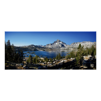 Banner Peak Thousand Island Lake John Muir Trail Poster