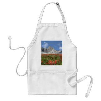 Banner Peak Wildflowers - Ansel Adams Wilderness Adult Apron