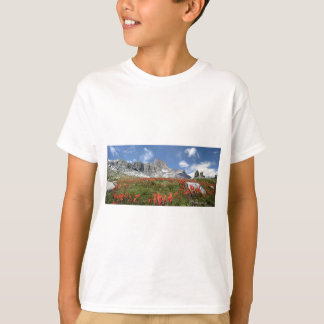 Banner Peak Wildflowers - Ansel Adams Wilderness T-Shirt