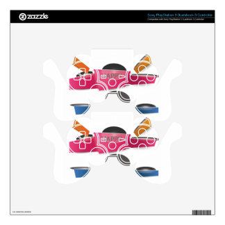 Banner PS3 Controller Decal