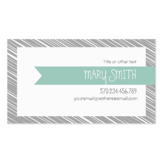 Banner & Scribbles Calling Card Business Card