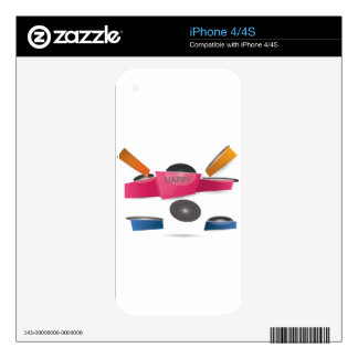 Banner Skin For The iPhone 4
