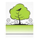 Banner_tree-Green Letterhead Design