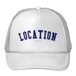 Banner Trucker Hats