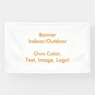 Banner uni White - Own Color