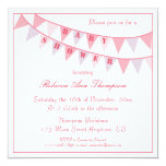 Banners Baby Shower Invitation