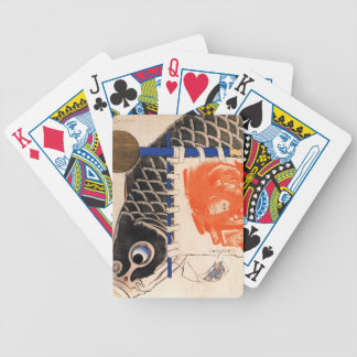 Banners for the Boys Festival Bicycle Playing Cards