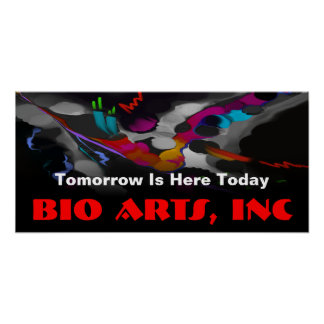 Banners, Posters - Bio Art Graphic