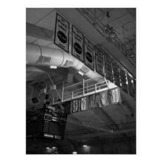 Banners, Read Arena, Western Michigan University Poster