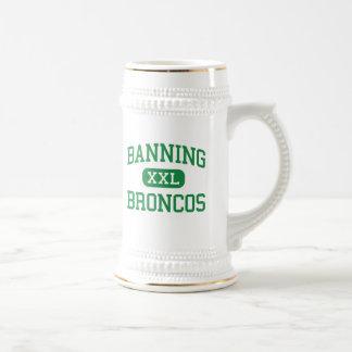 Banning - Broncos - High - Banning California 18 Oz Beer Stein