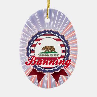 Banning, CA Ornament