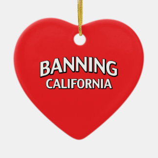 Banning California Christmas Ornaments