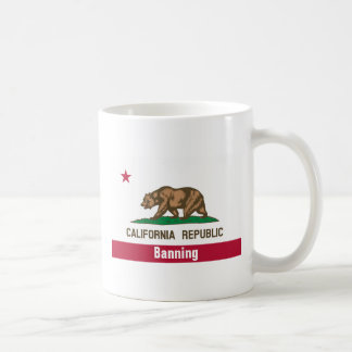 Banning California Coffee Mug