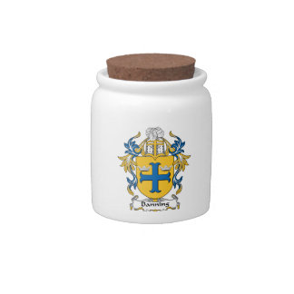 Banning Family Crest Candy Dishes
