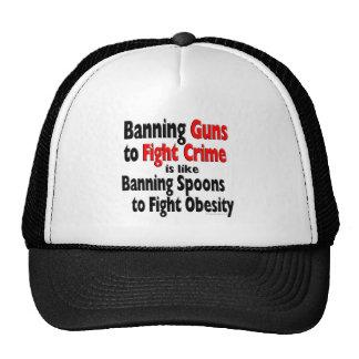 Banning Guns to Fight Crime Trucker Hat