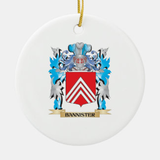 Bannister Coat of Arms Ornament
