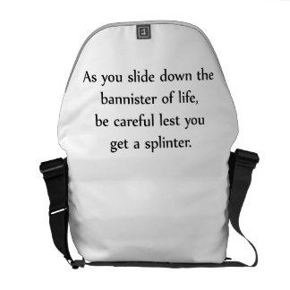 Bannister Courier Bag