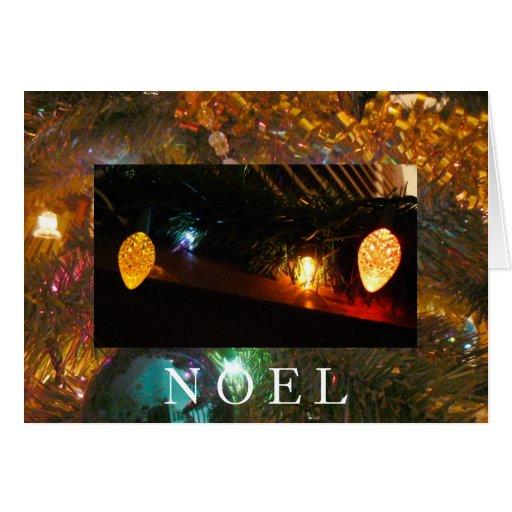 Bannister Lights Greeting Card
