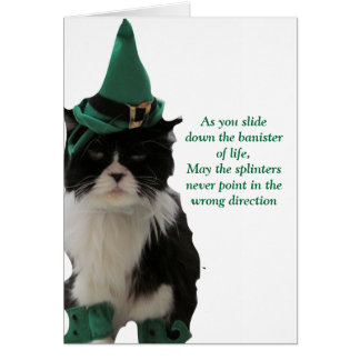 Bannisters of life - Happy St. Patrick's Day! Card