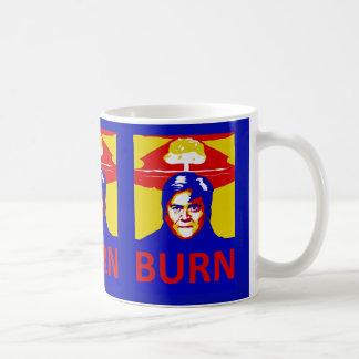 """Bannon's """"Burn"""" Mug"""