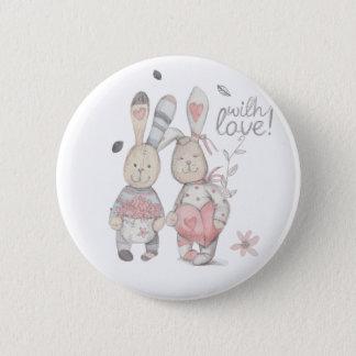banny rabbit couple 2 button