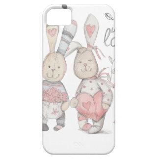 banny rabbit couple 2 iPhone SE/5/5s case