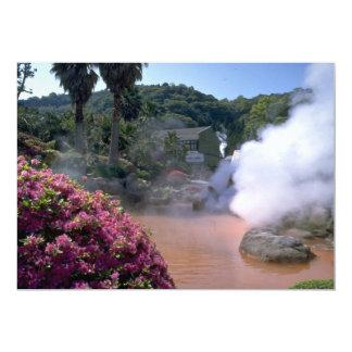 Baño de agua mineral tradicional, Bephu, Japón Anuncio