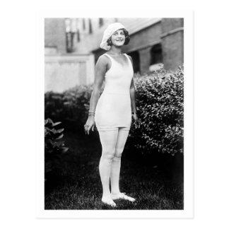 Baño de belleza, 1900s tempranos tarjeta postal