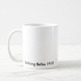 Baño de bellezas de 1910 taza