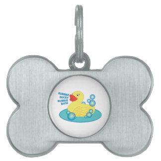 Baño de burbujas Ducky de goma