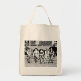 Baño de encanto del vintage de la competencia del  bolsas
