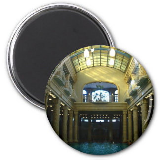 Baño de Gellert Imán Redondo 5 Cm