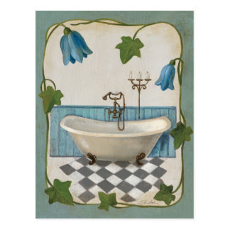 Baño de la flor de Bell Postales