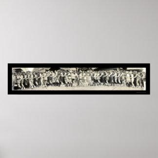 Baño de la foto 1920 del balboa de la belleza posters