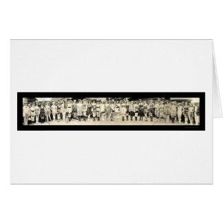 Baño de la foto 1920 del desfile del chica felicitaciones